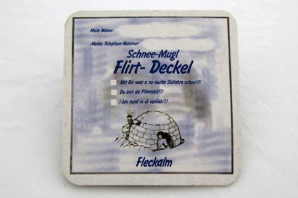Flirt Bierdeckel