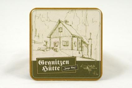 Hütten Bierdeckel