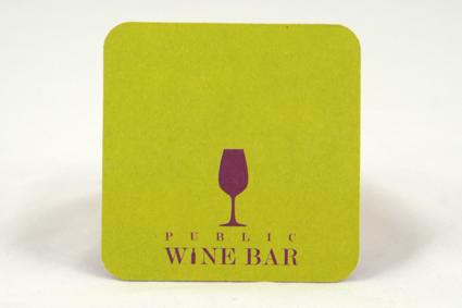 Weinbar Bierdeckel